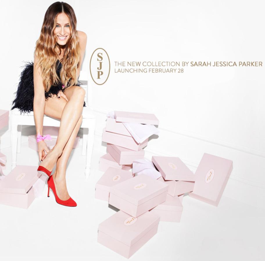 Сара Джессика Паркер запускает свою линию обуви в феврале