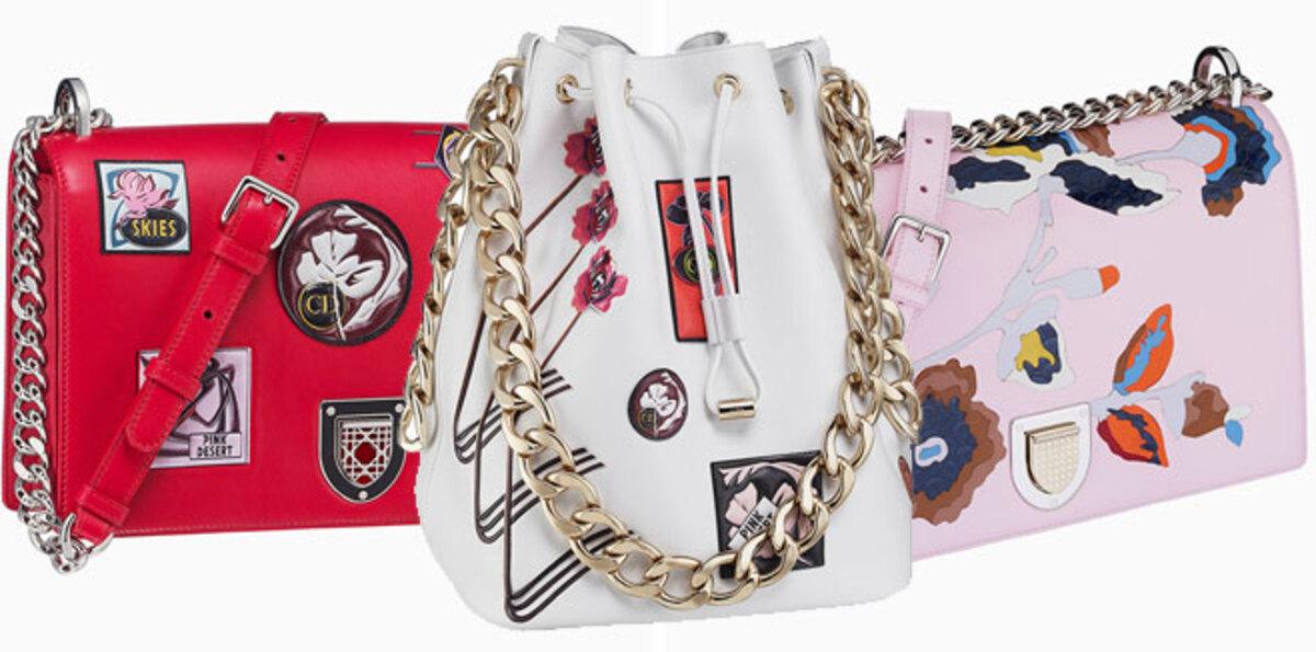 Paradise: Dior выпускает новую коллекцию «райских» аксессуаров
