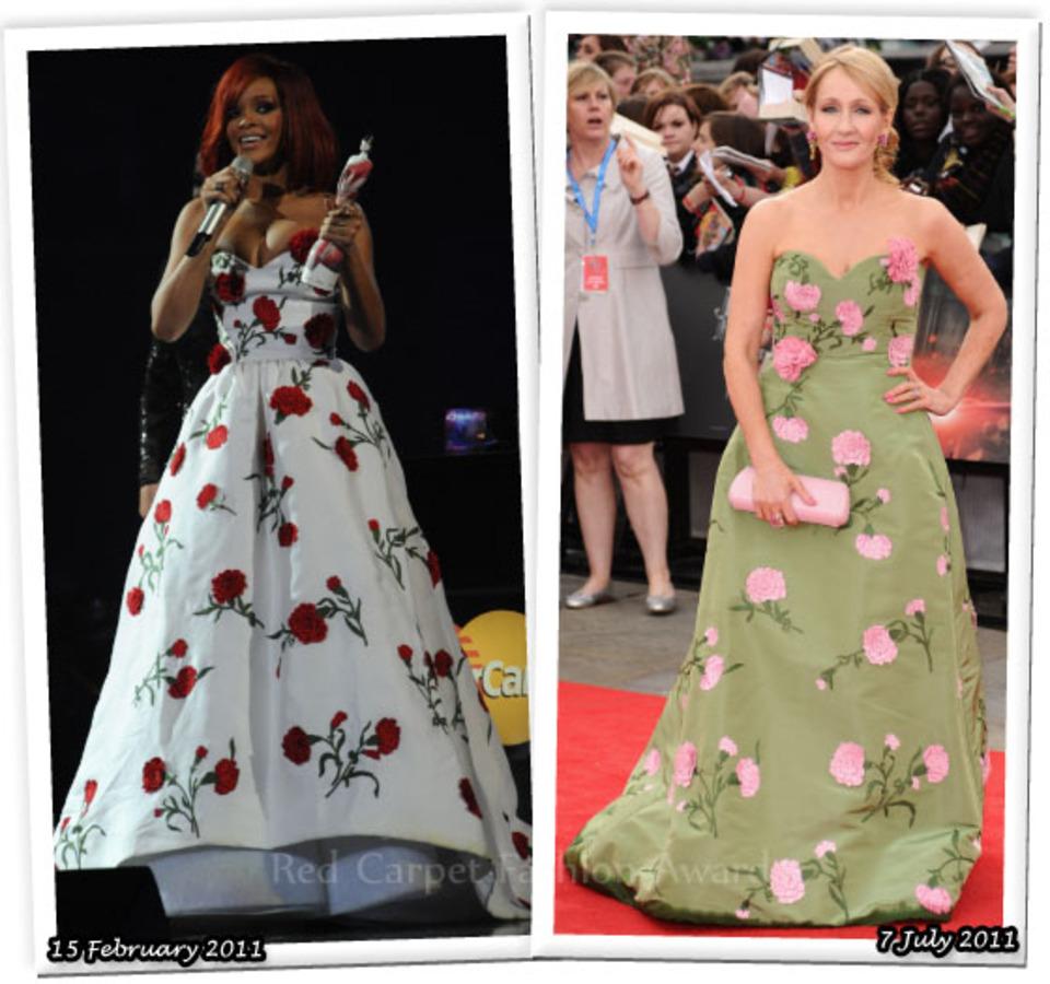 Fashion Battle: Рианна и Джоан Роулинг