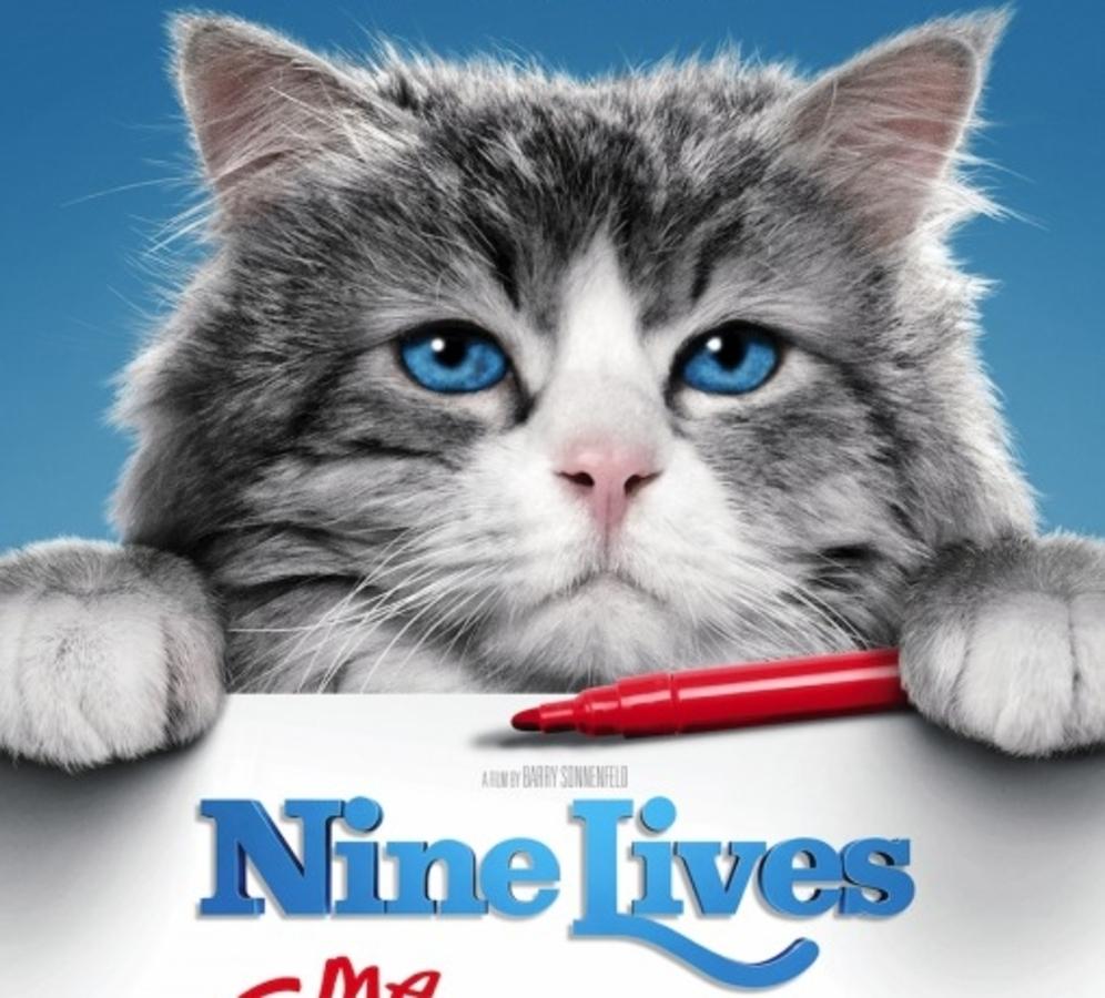 Кевин Спейси, Дженнифер Гарнер и котики  в новом трейлере фильма «Девять жизней»