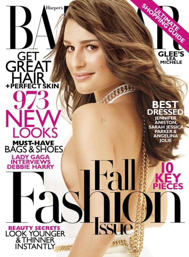 Лиа Мишель в журнале Harper's Bazaar. Сентябрь 2011