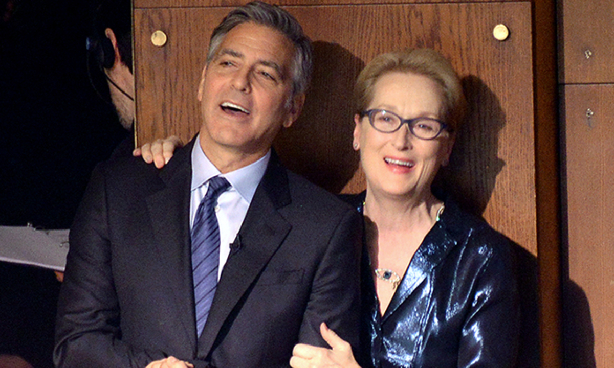 Джордж Клуни вмешался в конфликт Мэрил Стрип и Дональда Трампа