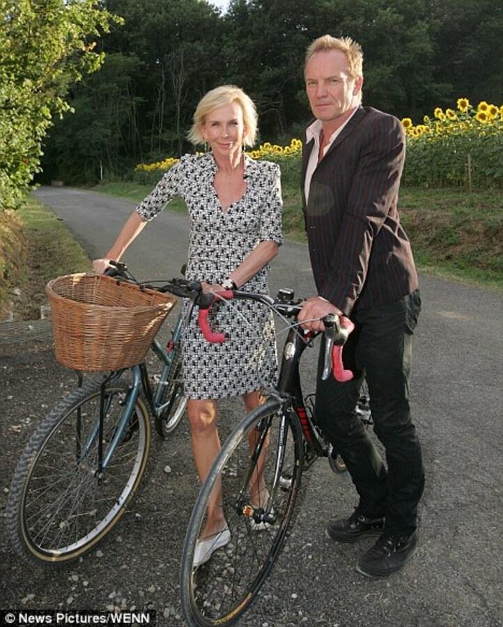 Стинг с женой открыли магазин органической еды