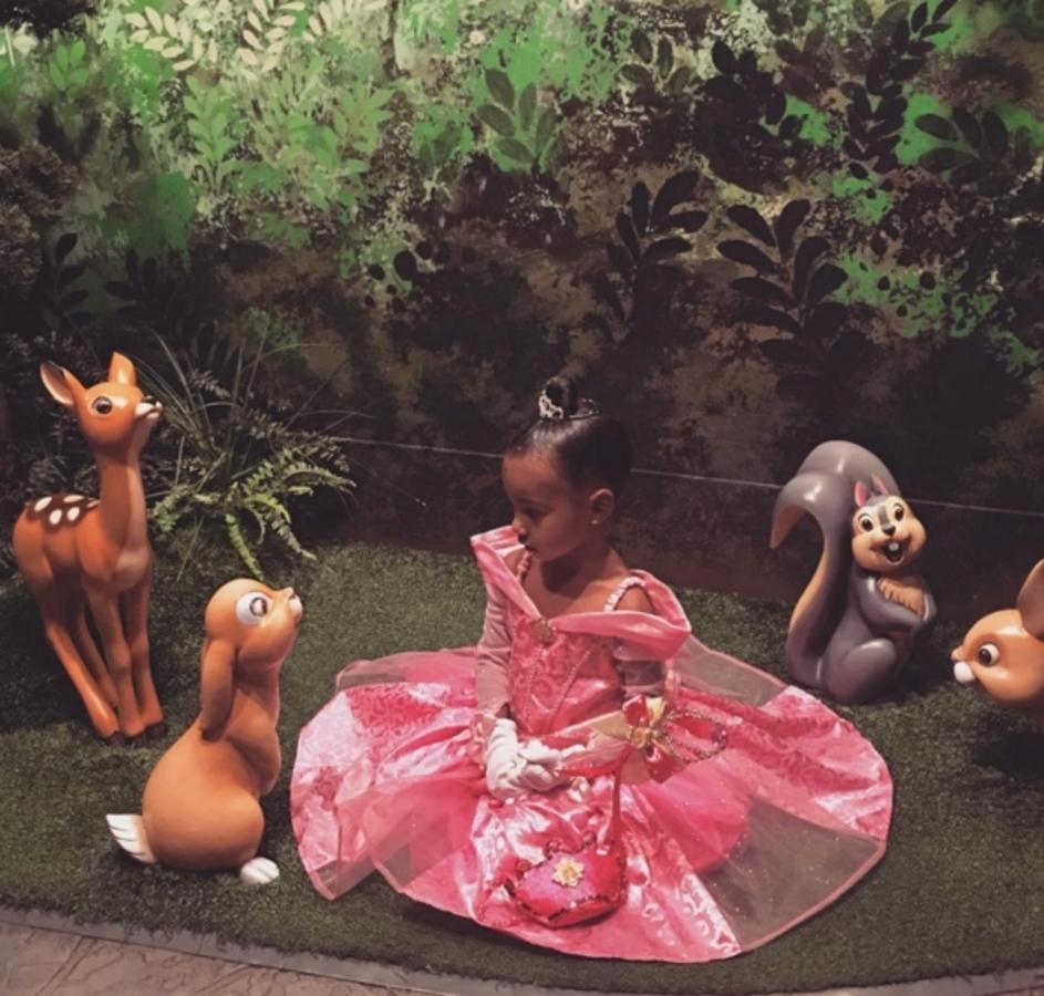 Ким Кардашьян и Канье Уэст отметили третий день рождения дочери