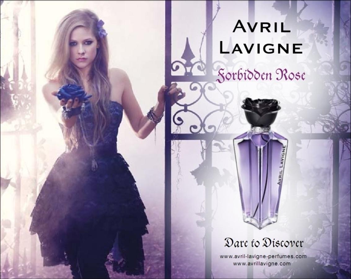"""Видео: реклама духов Аврил Лавин """"Forbidden Rose"""""""