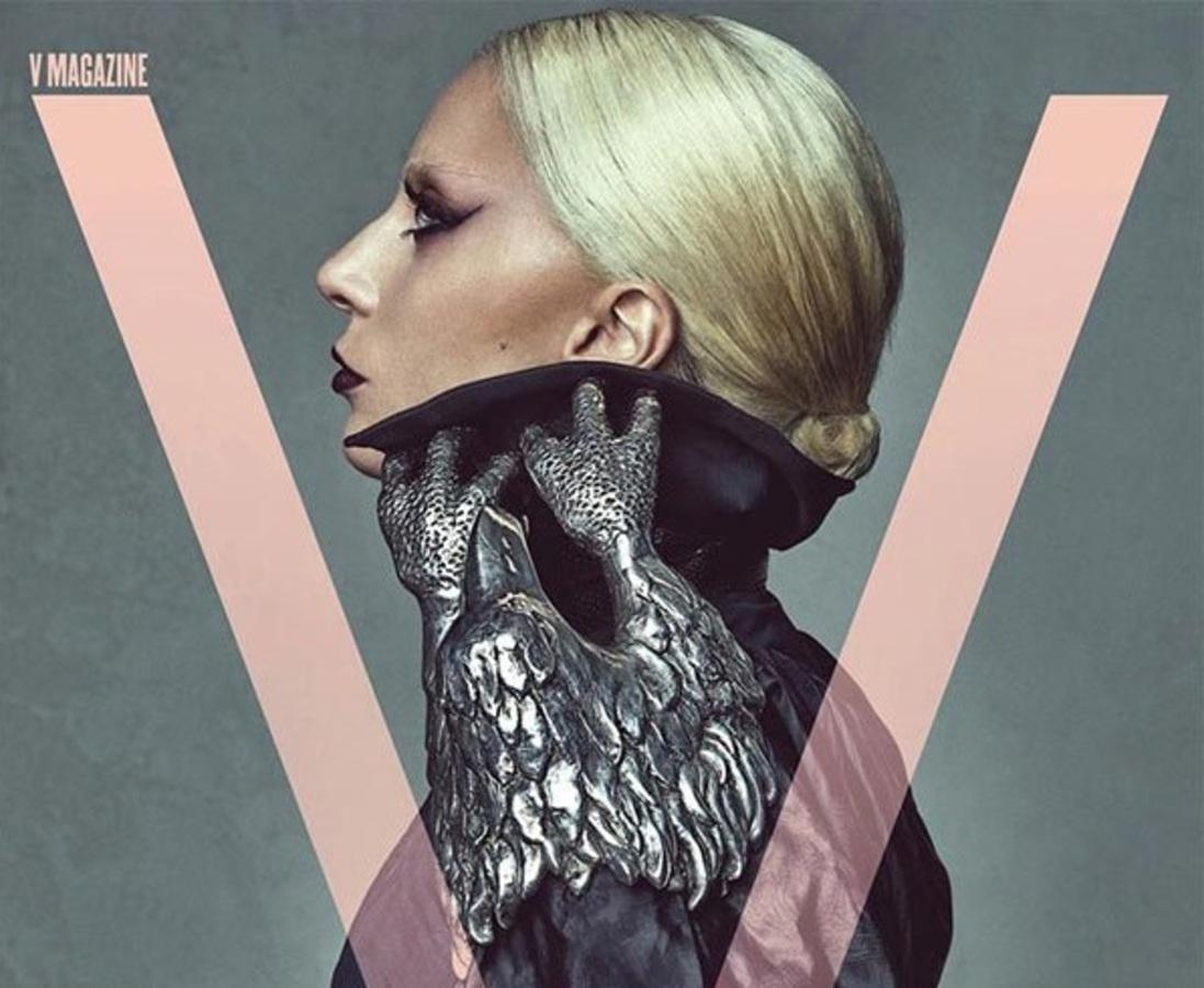 Леди Гага снялась для обложки V Magazine в роли приглашенного редактора