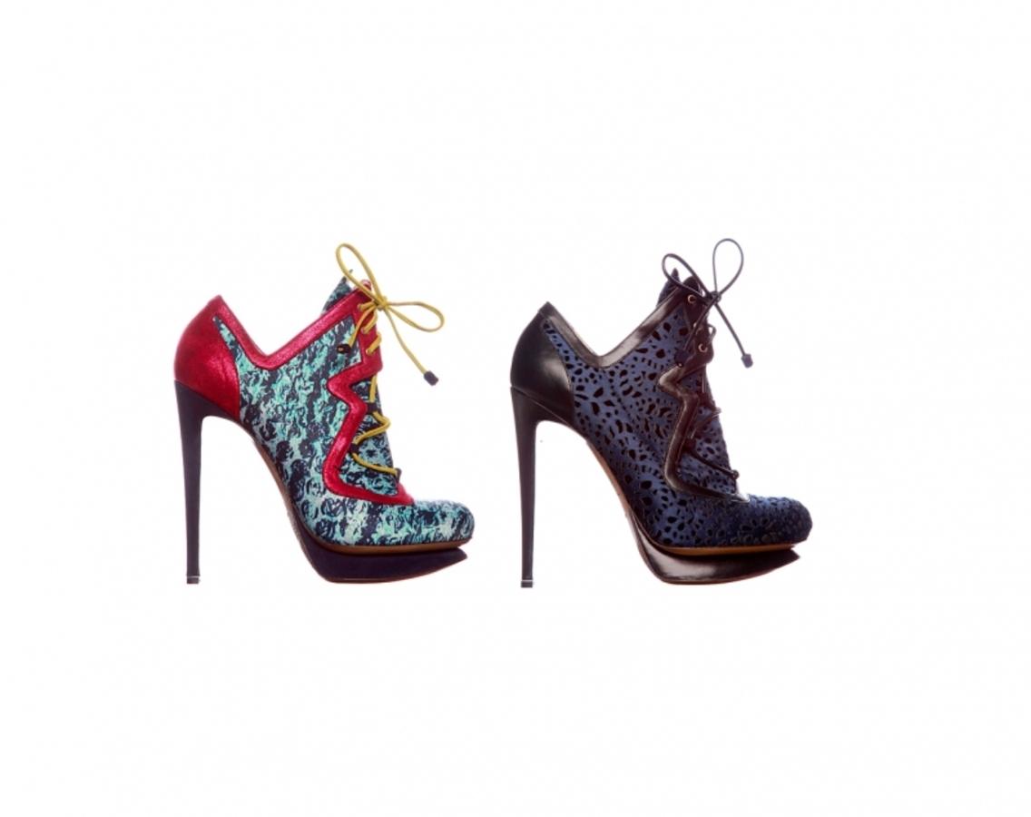 Эксцентричная обувь от Nicholas Kirkwood. Осень/зима 2011-2012