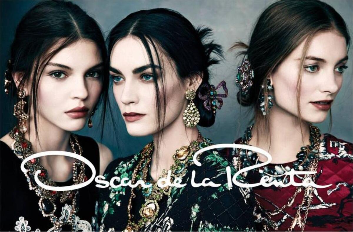 Рекламная кампания Oscar de la Renta. Осень / зима 2013-2014