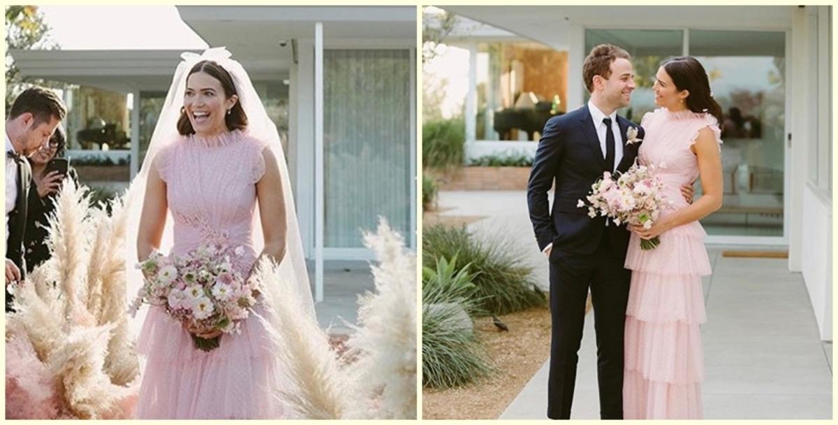 Мэнди Мур поделилась первыми фото со свадьбы