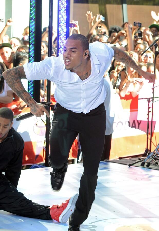 Крис Браун опозорился на концерте