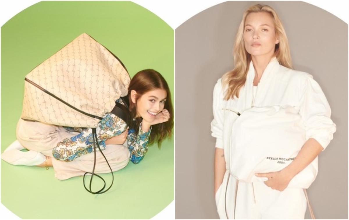 Два поколения: Кейт Мосс и Кайя Гербер в новой рекламе Stella McCartney