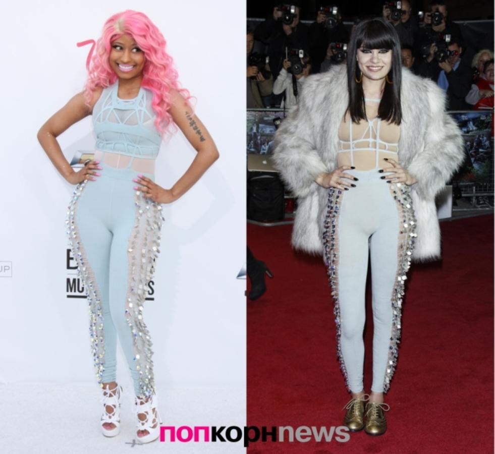 Fashion Battle: Ники Минаж и Джесси Джей