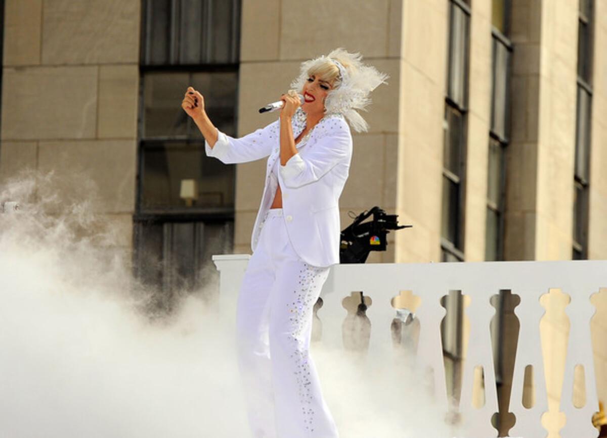Выступление Lady Gaga на Today Show
