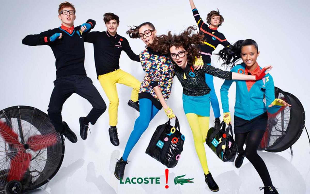 Рекламная кампания Lacoste Осень 2009 / Зима 2010