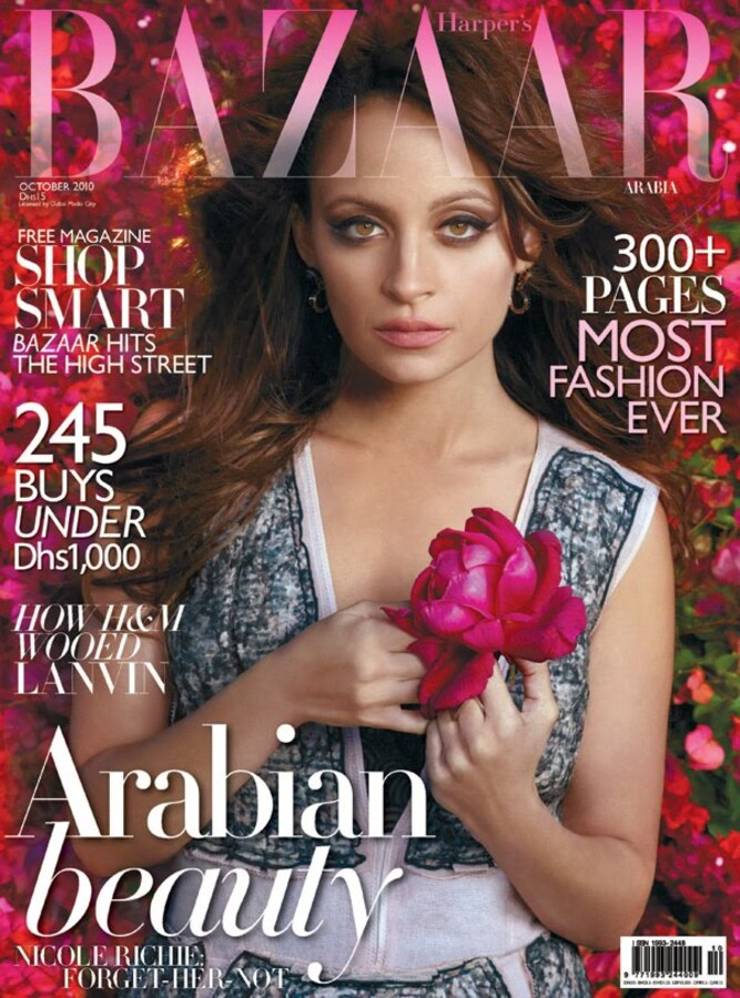 Николь Ричи в журнале Harper's Bazaar. Саудовская Аравия. Октябрь 2010