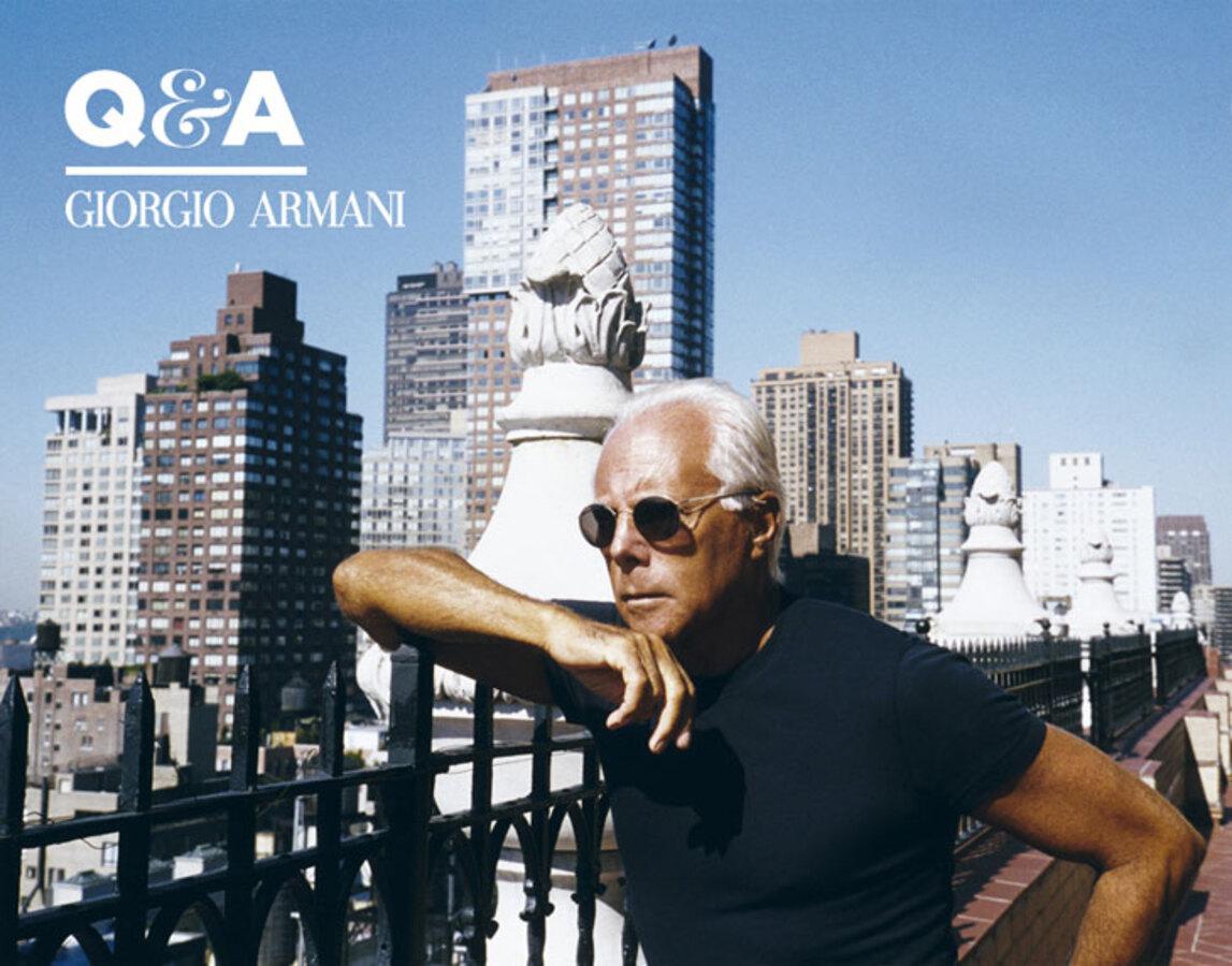 В Нью-Йорке отмечают день Джорджо Армани