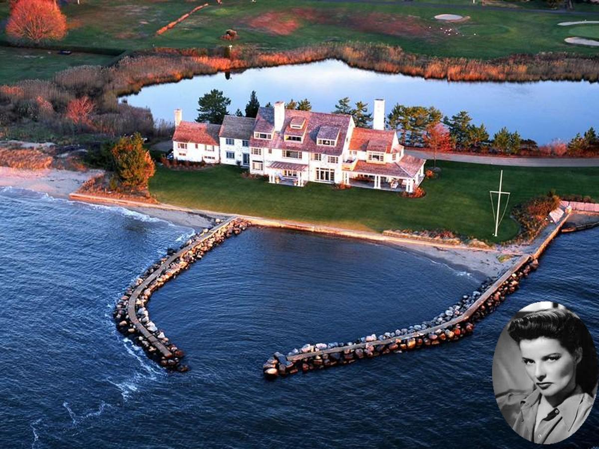 Бывший дом голливудской актрисы Кэтрин Хепберн продается за 28 миллионов долларов