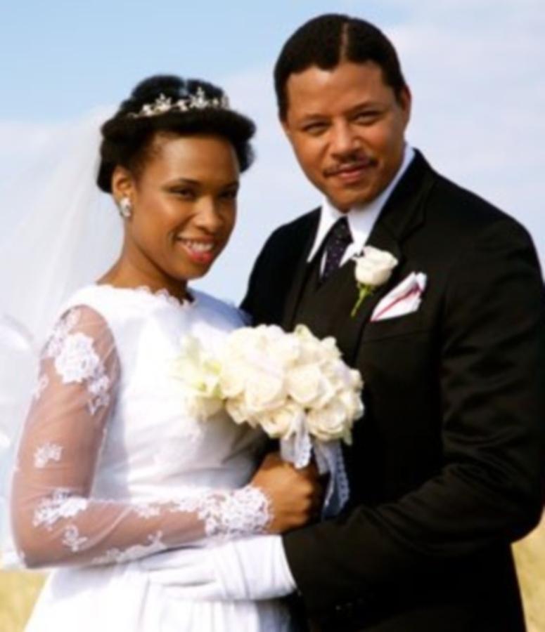 Дженнифер Хадсон и Терренс Ховард в образе супругов Мандела