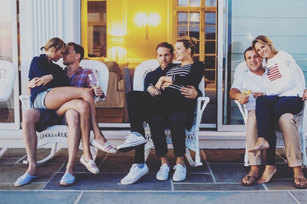 Пляжная вечеринка Тейлор Свифт и Тома Хиддлстона растянулась на несколько дней