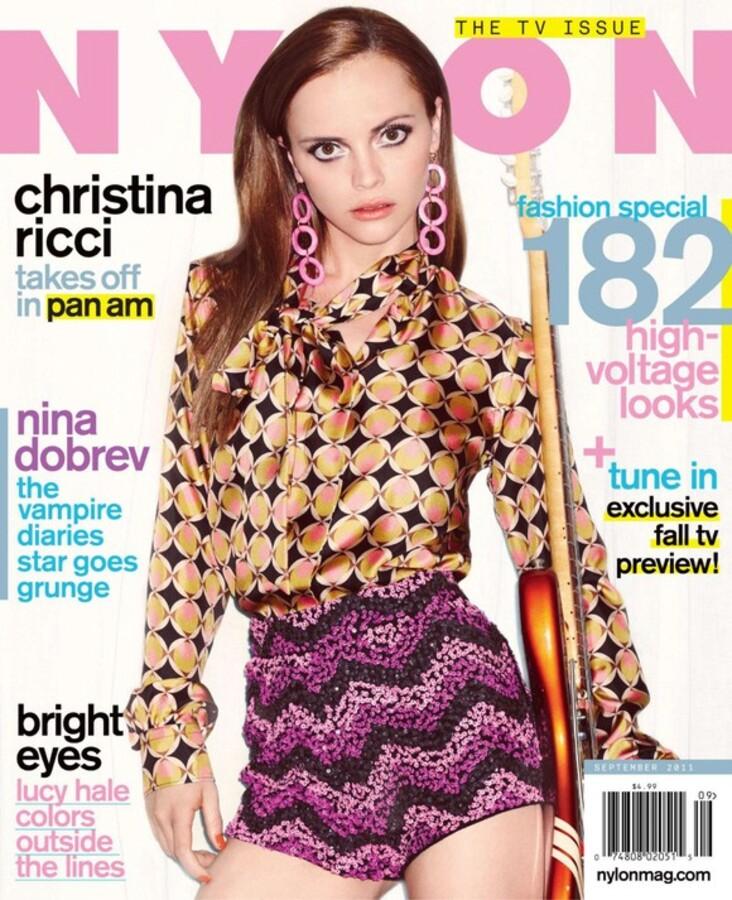 Кристина Риччи в журнале Nylon. Сентябрь 2011