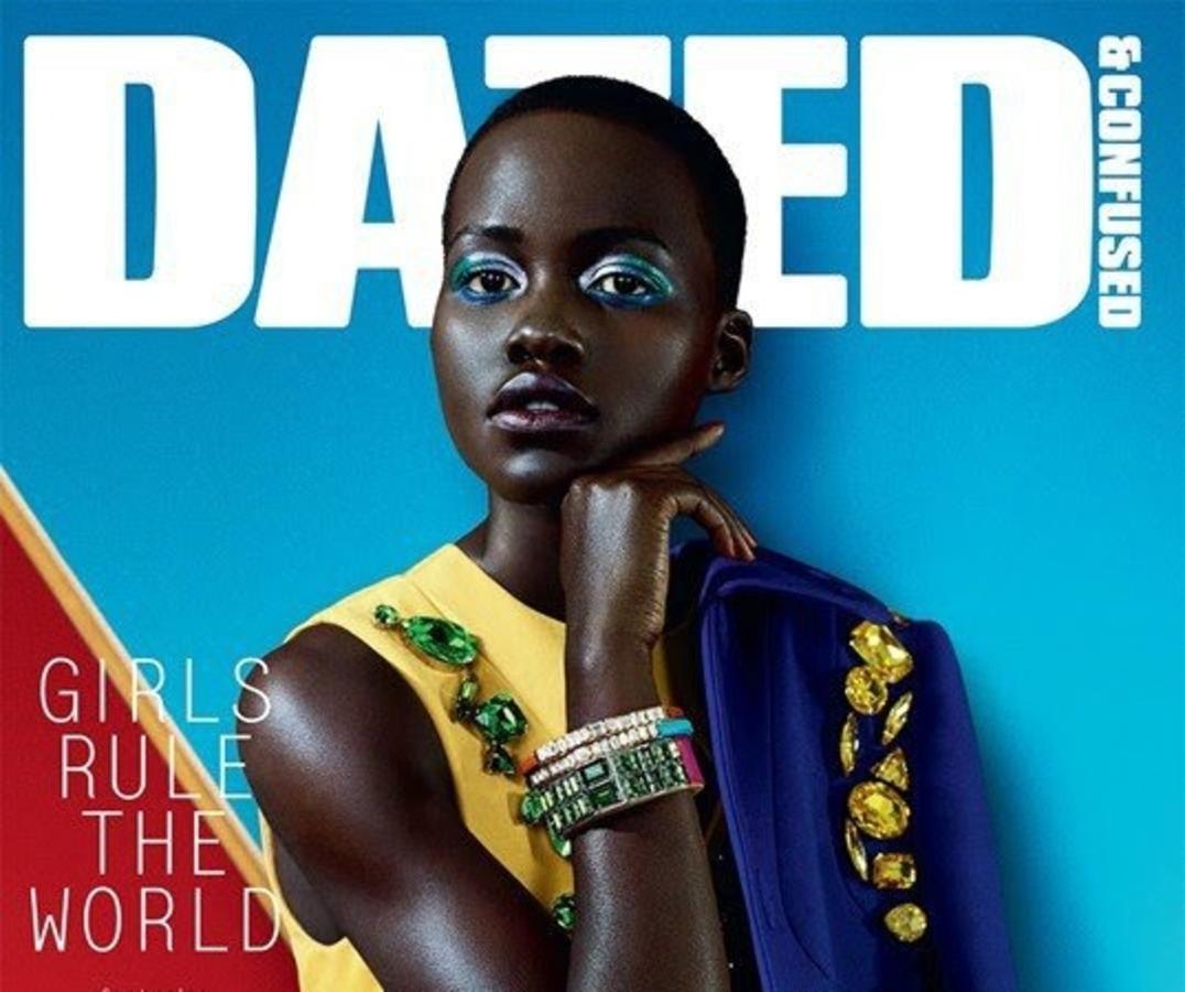 Актриса Люпита Ньонго в журнале Dazed & Confused. Февраль 2014