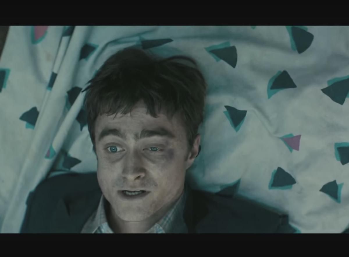 Дэниел Рэдклифф в роли трупа в трейлере нового фильма «Перочинный человек»