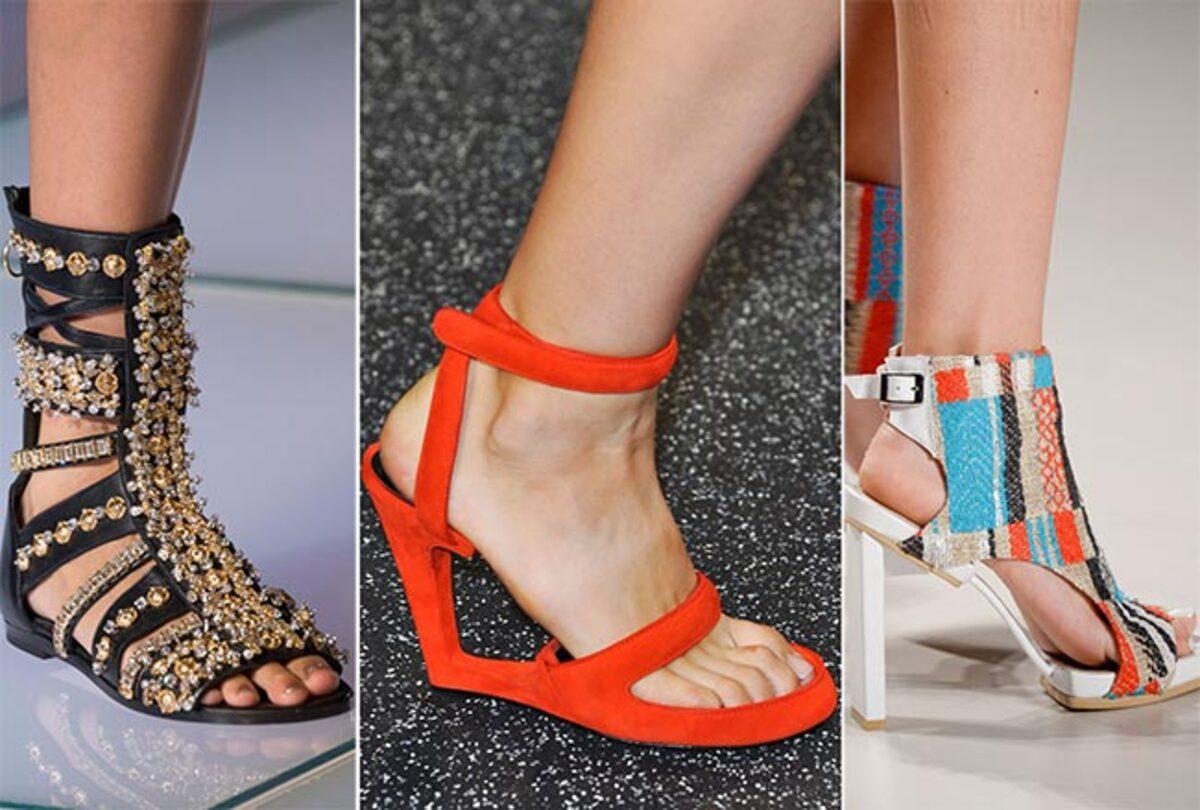 Модные туфли весна-лето 2015: фото самых стильных моделей