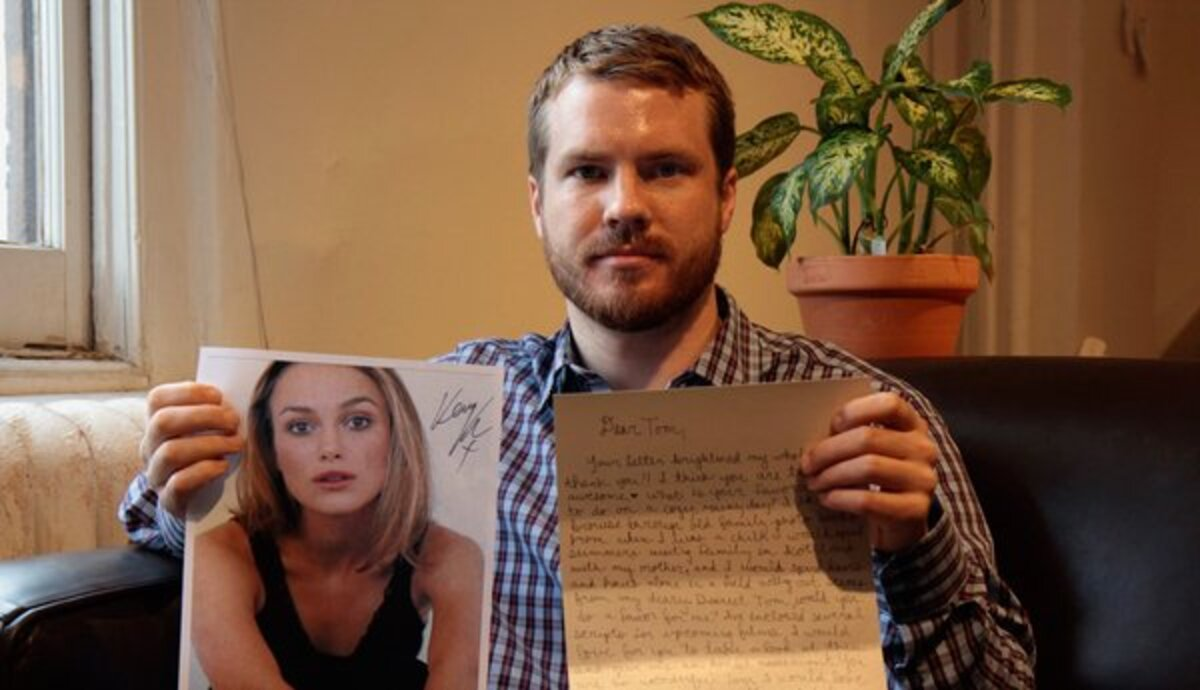 Кира Найтли быстро отвечает на письма своих поклонников