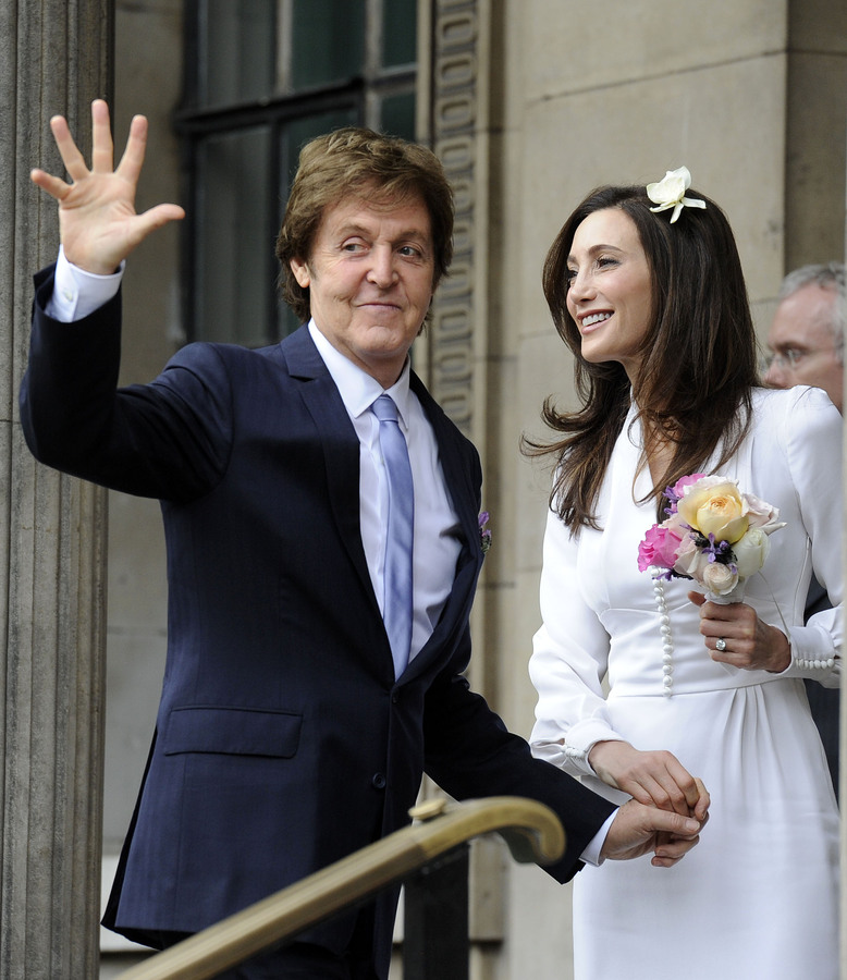 Пол МакКартни женился