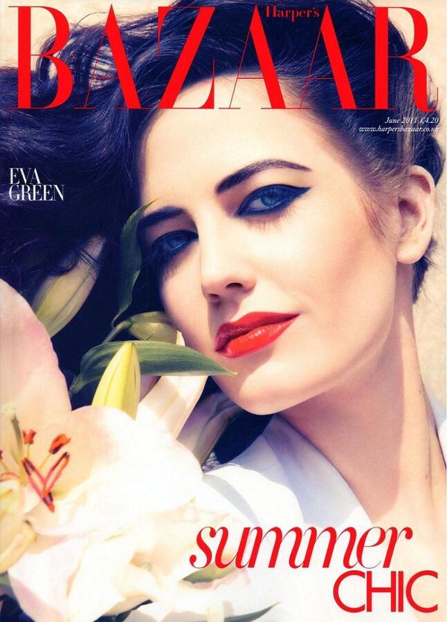 Ева Грин в журнале Harper's Bazaar UK. Июнь 2011