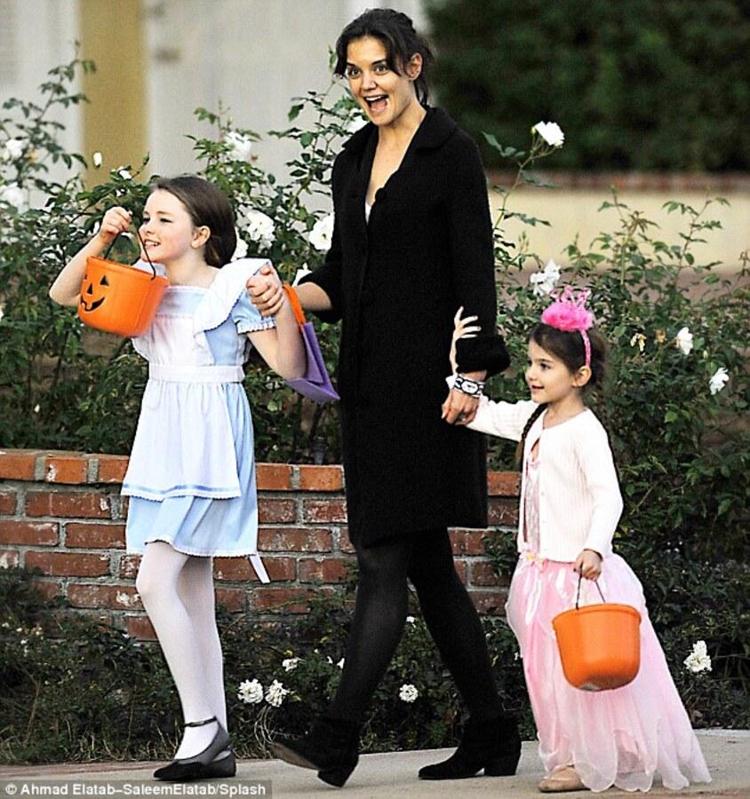Как оделись звездные дети на Хэллоуин