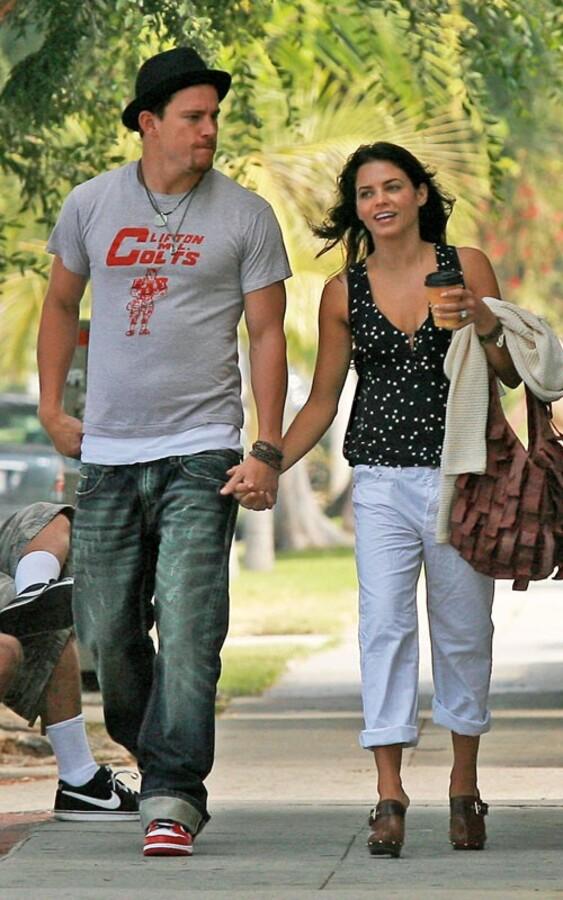 Ченнинг Тэйтум и Дженна Девон ходят по магазинам