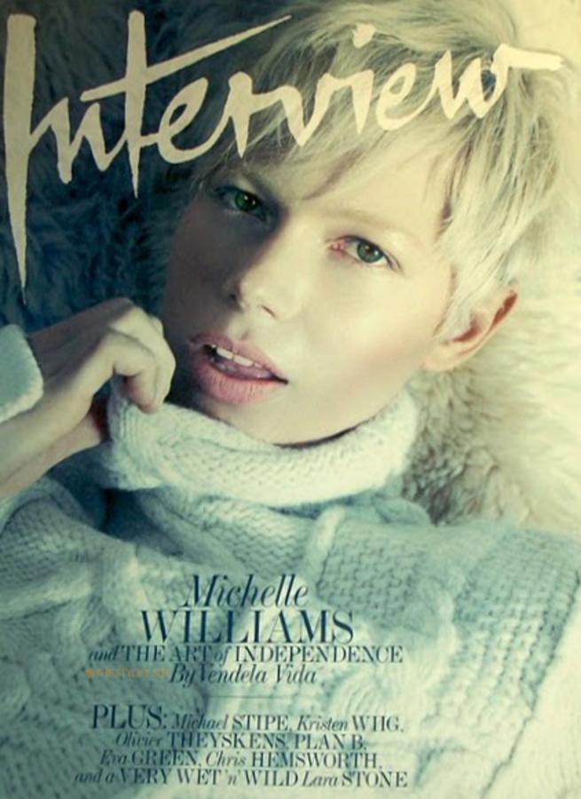 Мишель Уильямс в журнале Interview. Май 2011