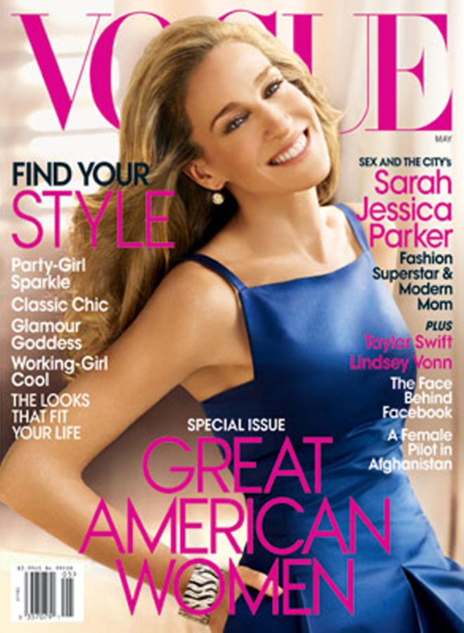Сара Джессика Паркер в журнале Vogue. Май 2010