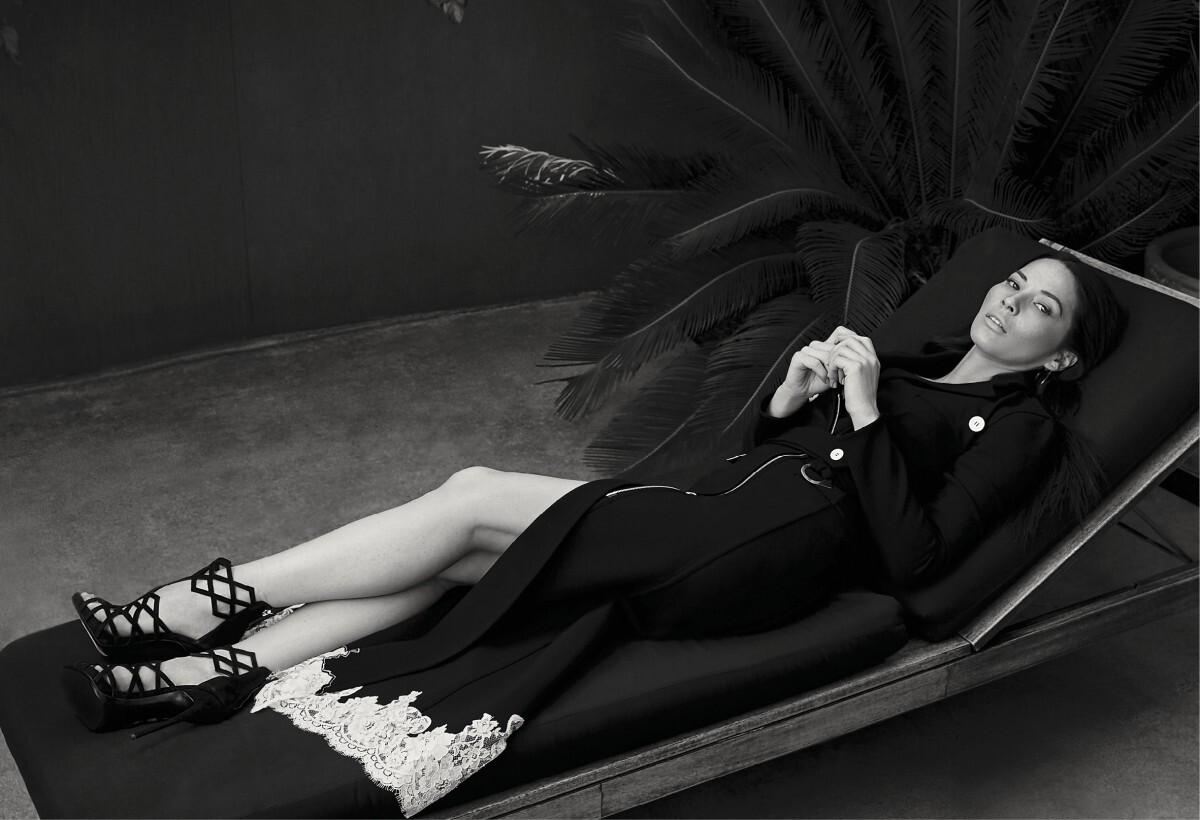 Оливия Манн в журнале Fashion. Май 2015