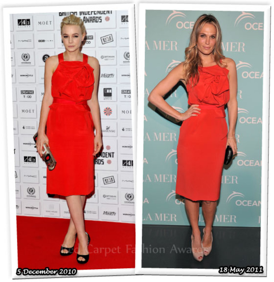 Fashion Battle: Кэри Маллиган и Молли Симс