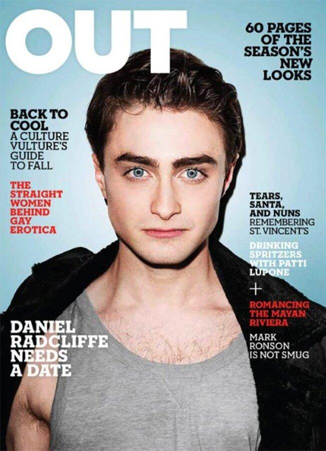 Дэниел Рэдклифф в журнале Out. Сентябрь 2010