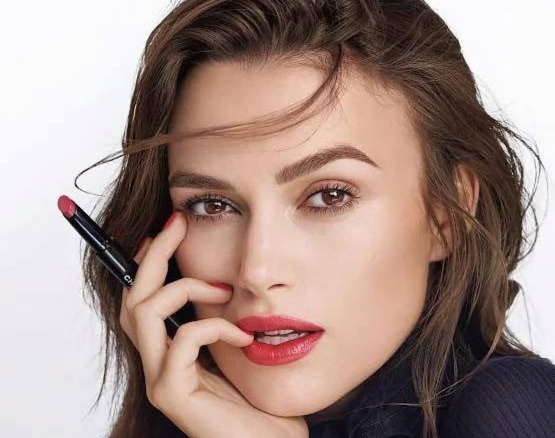 Кира Найтли в рекламной кампании Chanel Rouge Coco. Весна 2016