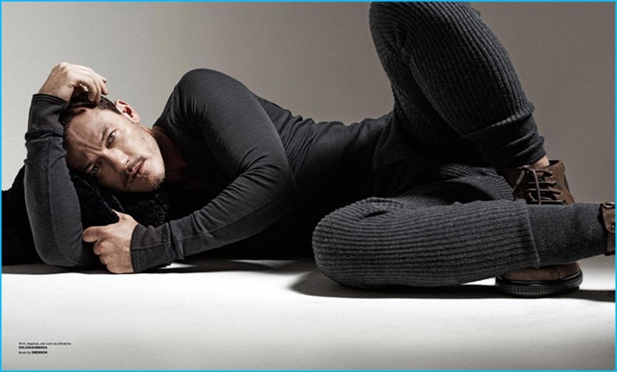 Люк Эванс снялся в фотосете для Essential Homme (ноябрь 2016)