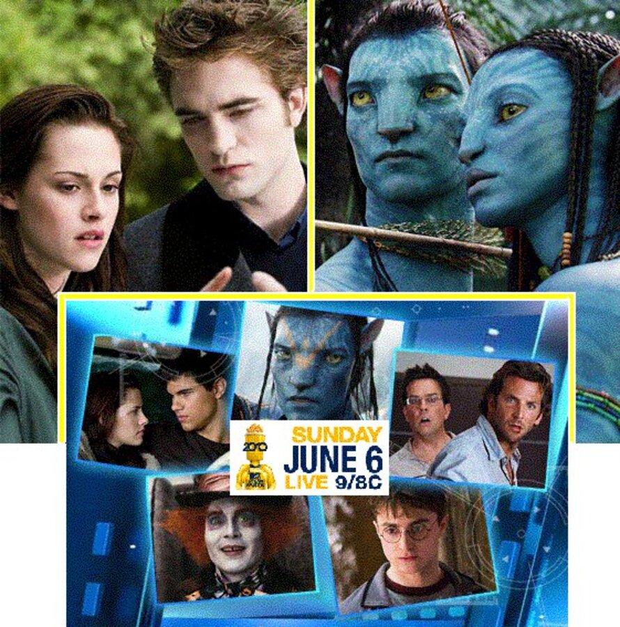 Оглашены окончательные 5-ки номинантов MTV Movie Awards 2010
