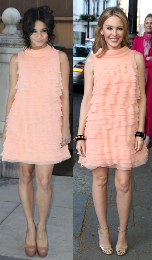 Fashion battle: Ванесса Хадженс и Кайли Миноуг