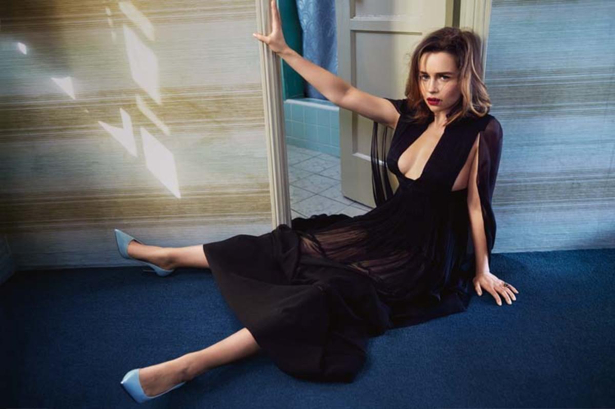 Эмилия Кларк в журнале Vogue Австралия. Май 2016