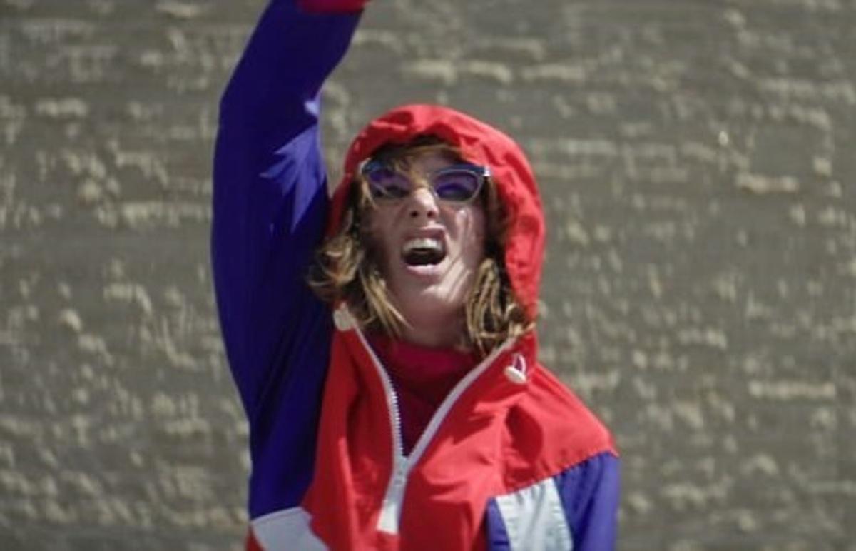 Лина Хиди снялась в клипе группы Kasabian III Ray (The King)