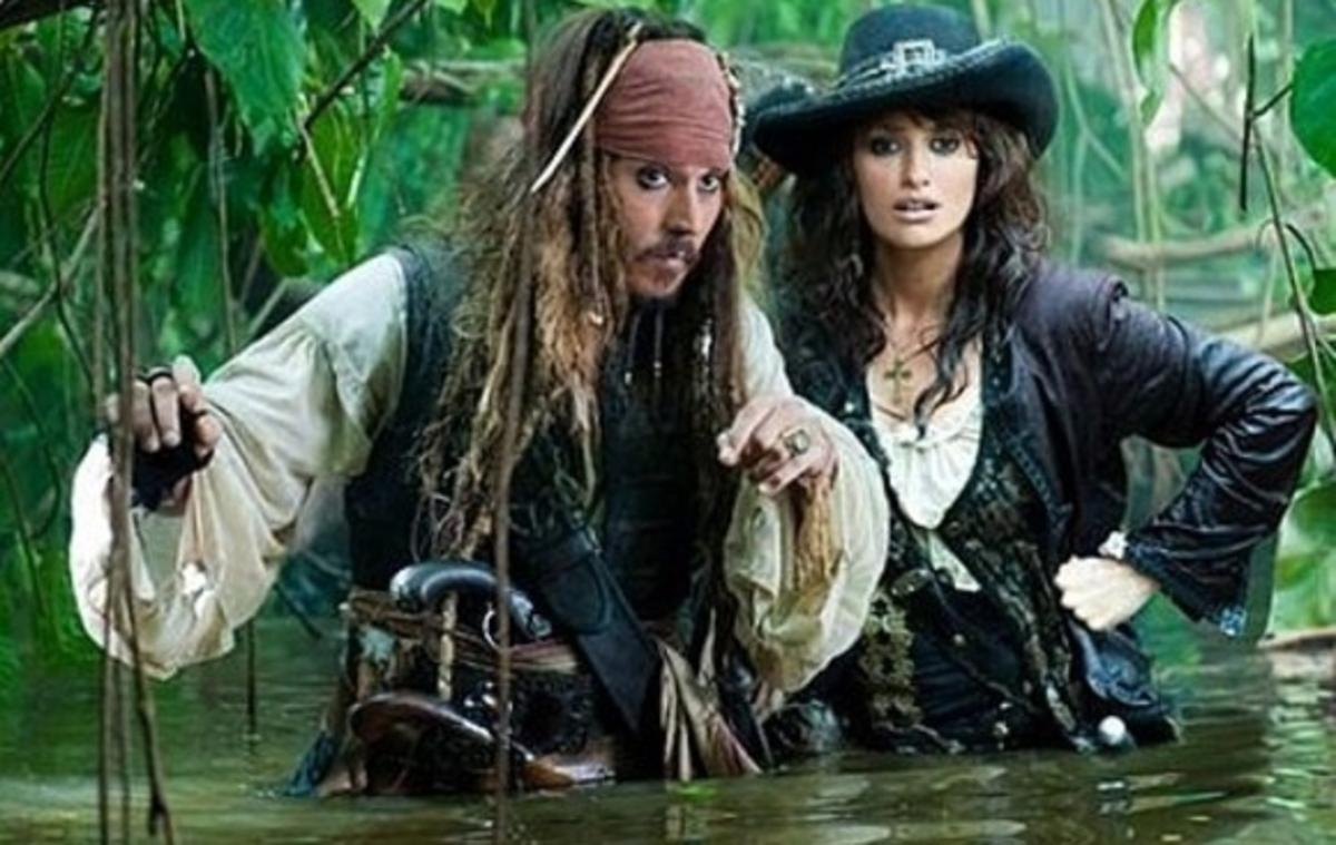 Первые кадры «Пиратов Карибского моря: На странных берегах»