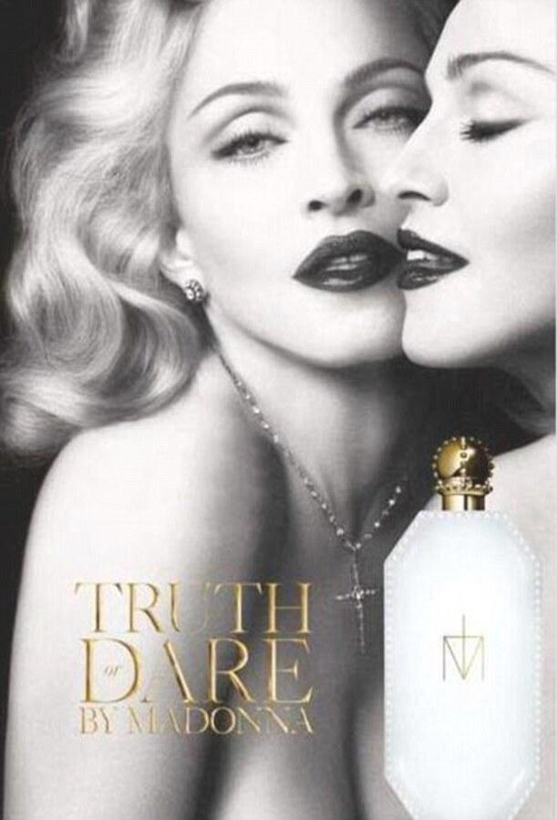 Мадонна станет лицом своего нового бренда Truth or Dare
