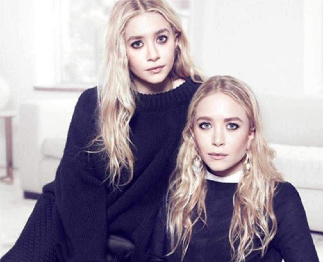 Мэри-Кейт и Эшли Олсен в журнале The Edit. Октябрь 2013