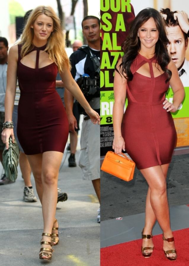 Fashion battle: Блэйк Лайвли и Дженнифер Лав Хьюитт