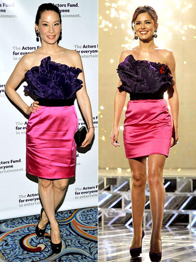 Fashion Battle: Люси Лью и Шерил Коул