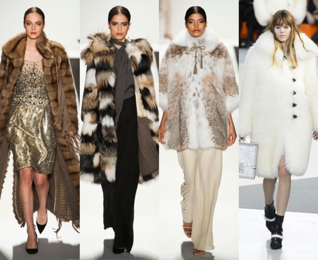 Модные шубы осень-зима 2015-2016: фото