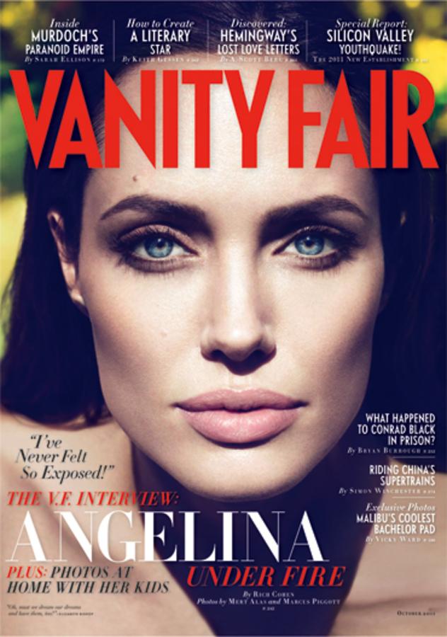 Анджелина Джоли украсит обложку октябрьского выпуска Vanity Fair